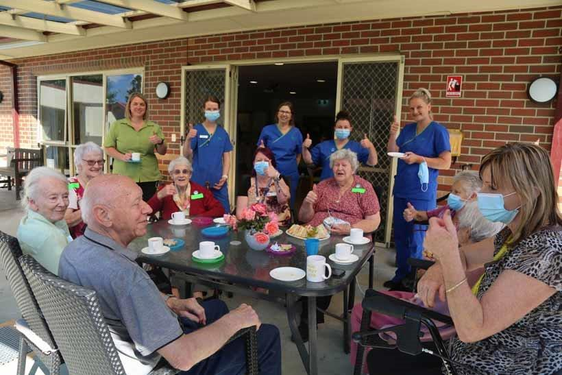 west gippsland aged care residents welcome covid vaccination
